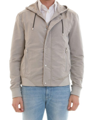 Versace Collection: casual jackets online - Stretch cotton sporty jacket