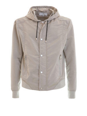 Versace Collection: casual jackets - Stretch cotton sporty jacket