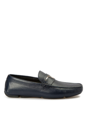 Versace Collection: Loafers & Slippers - Medusa driver shoes