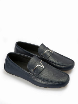 Versace Collection: Loafers & Slippers online - Medusa driver shoes