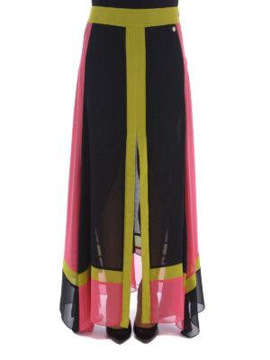 Versace Collection: Long skirts online - Georgette skirt