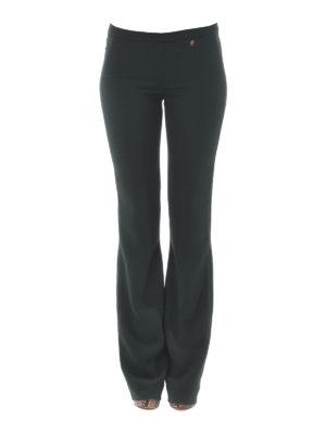 VERSACE COLLECTION: pantaloni casual online - Pantalone a zampa con logo