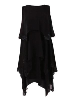 Versace Collection: short dresses - Flounced short dress