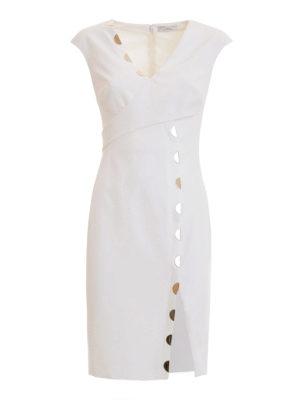 Versace Collection: short dresses - Golden detailed sleeveless dress