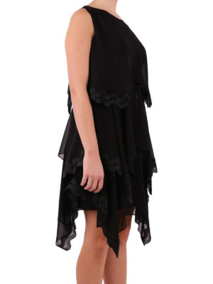 Versace Collection: short dresses online - Flounced short dress