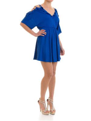 Versace Collection: short dresses online - Flounced viscose short dress