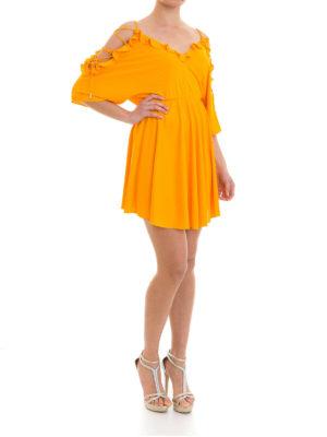 Versace Collection: short dresses online - Viscose flounced short dress