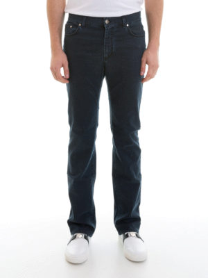 Versace Collection: straight leg jeans online - Denim classic jeans