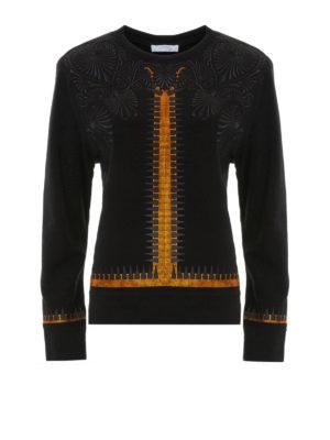 Versace Collection: Sweatshirts & Sweaters - Embellished embroidered sweatshirt