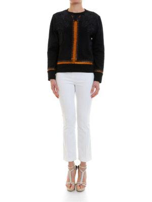 Versace Collection: Sweatshirts & Sweaters online - Embellished embroidered sweatshirt