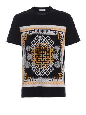 Versace Collection: t-shirts - Front Cornici print T-shirt