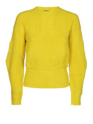 VERSACE: maglia collo rotondo - Maglione in lana