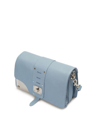 Versace: cross body bags online - Stardvust leather bag