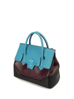 Versace: cross body bags online - Vanitas multicolour signature bag