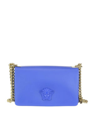 Versace: cross body bags - Palazzo leather cross body bag