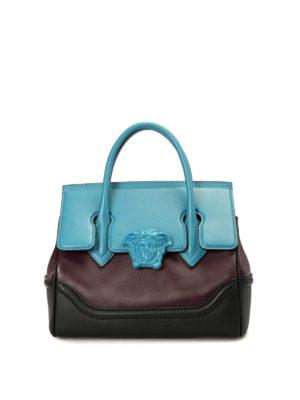 Versace: cross body bags - Vanitas multicolour signature bag