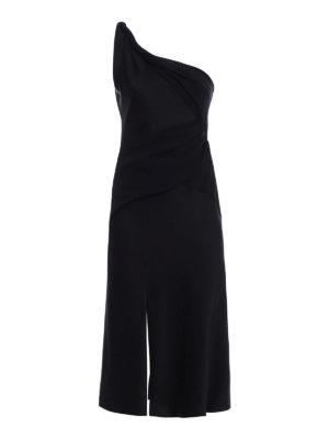 Versace: evening dresses - One shoulder sensual crepe dress