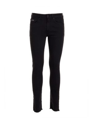 Versace Jeans Couture: skinny jeans - 5 pockets jeans