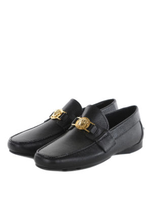 Versace: Loafers & Slippers online - Medusa Head clamp loafers
