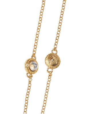 Versace: Necklaces & Chokers online - Medusa and rhinestones necklace