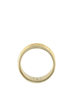 Versace: Rings online - Greca Key cut out ring