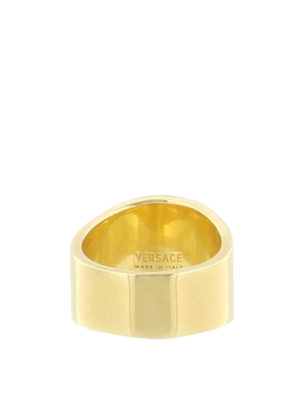 Versace: Rings online - Medusa Head gold-tone ring