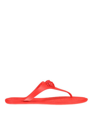 Versace: sandals - Medusa Head thong sandals