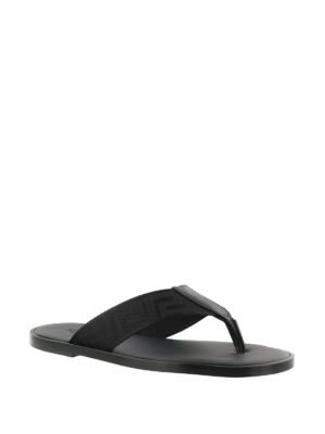 Versace: sandals online - Greca Key thong sandals