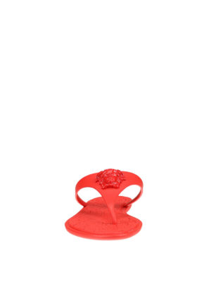 Versace: sandals online - Medusa Head thong sandals