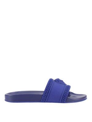 Versace: sandals - Palazzo rubber slides