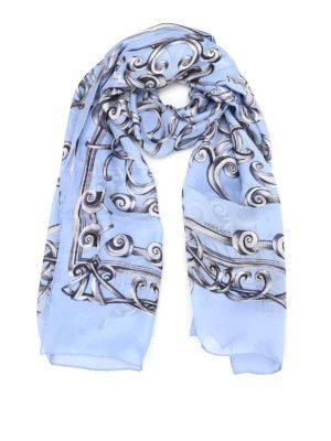 Versace: scarves - Heritage Barocco print silk scarf