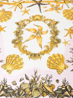 Versace: scarves online - Trésor de la Mer silk scarf