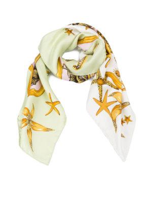 Versace: scarves - Trésor de la Mer silk scarf