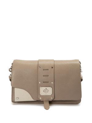 Versace: shoulder bags - Metallic inserts shoulder bag