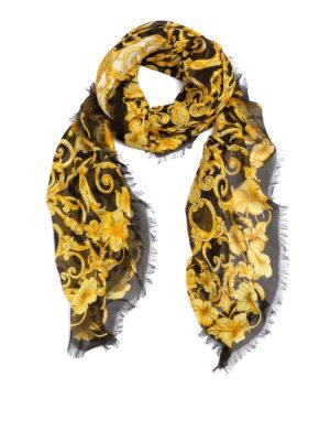 VERSACE: Stoles & Shawls - Baroque print shawl