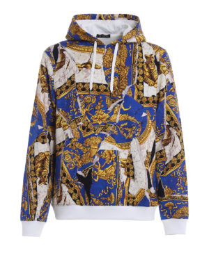 VERSACE: Felpe e maglie - Felpa Signature Under the Covers