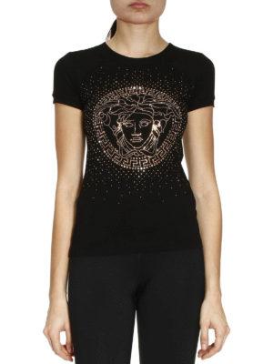 Versace: t-shirts online - Medusa logo T-shirt