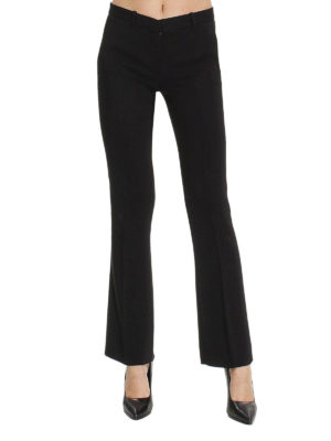 Versace: Tailored & Formal trousers online - Formal flared trousers
