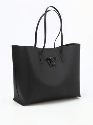 Versace: totes bags online - Medusa Head detail tote