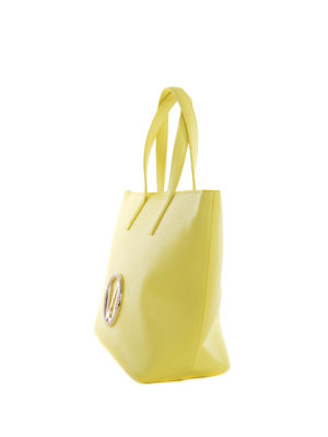 Versace: totes bags online - Versace Jeans faux leather tote