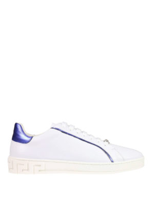 Versace: trainers - Contrasting piping slip-ons