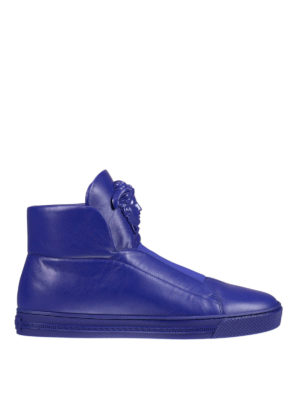 Versace: trainers - Palazzo high-top sneakers