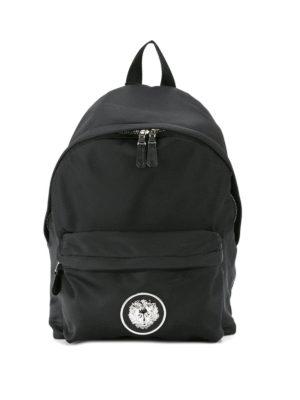 Versus Versace: backpacks - Lion Head detail backpack