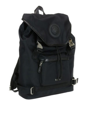 Versus Versace: backpacks online - Lion Head detailed nylon backpack