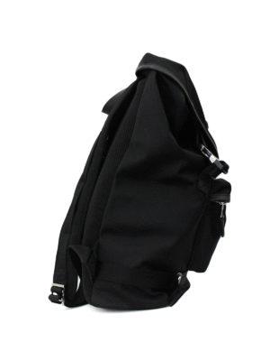 Versus Versace: backpacks online - Lion Head nylon backpack