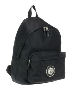 Versus Versace: backpacks online - Lion Head nylon backpack