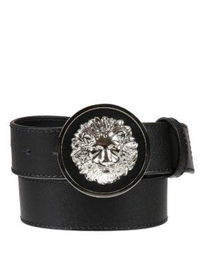 Versus Versace: belts - Lion Head leather belt