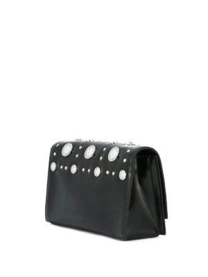 Versus Versace: cross body bags online - Lion Head detail leather crossbody