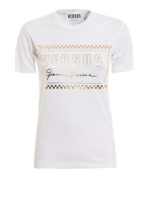 bd34f3fd87 Versus Versace: t-shirt - T-shirt bianca Versus Gianni Versace 90s