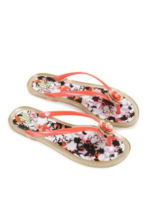 Via Delle Perle: flip flops - Resort rubber flip flop